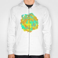 Abstract Green Pattern Hoody