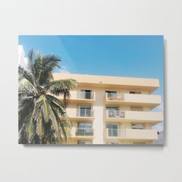 MIAMI VICE Metal Print