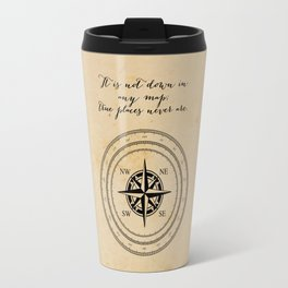 Moby Dick - Herman Melville - True Places Travel Mug