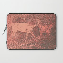 Abstract Sugar and Buford by Robert S. Lee Laptop Sleeve