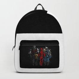 Violent Red Ninja Hero Backpack