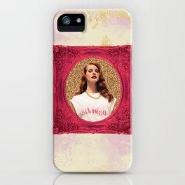Lana glitter iPhone Case