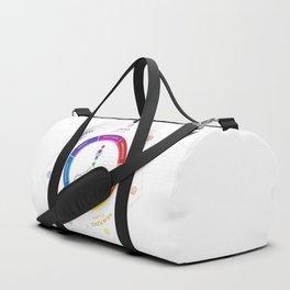 7 Chakra Lotus Flower Art Duffle Bag