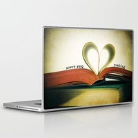 read Laptop & iPad Skins featuring Read by Lawson Images