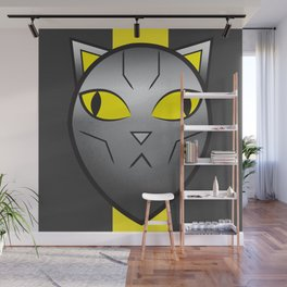 CatBot Wall Mural