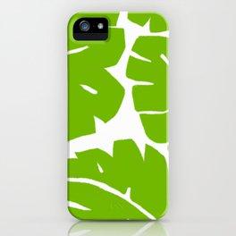Jungle Leaf iPhone Case