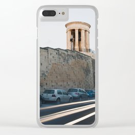 Siege Bell War Memorial Clear iPhone Case