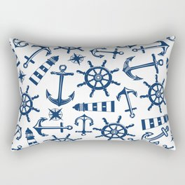 Seven seas Rectangular Pillow