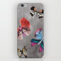 Floating Butterflies iPhone & iPod Skin