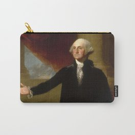 Vintage George Washington Portrait Painting 2 Carry-All Pouch