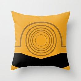 Cee-Threepio Throw Pillow