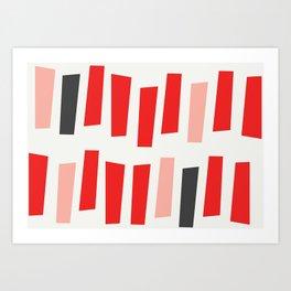 sticks Art Print
