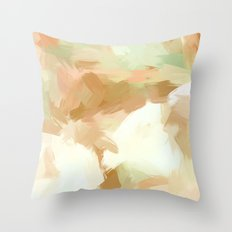 BLOSSOMS - COLORS III Throw Pillow