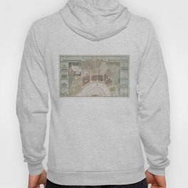 Vintage Map of New Orleans Louisiana (1817) Hoody