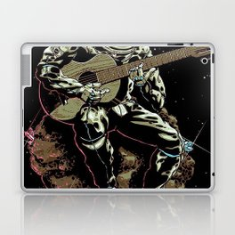 Space Guitar Player Laptop & iPad Skin