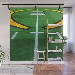 Rugby playing field Wall Mural