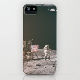 Moon Landing - Stanley Kubrick outtakes iPhone Case