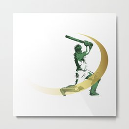 Cricket Metal Print