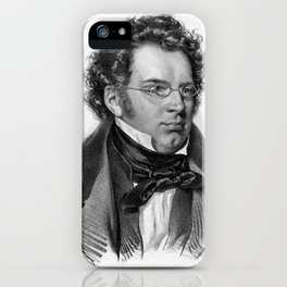 Kriehuber- Portrait of Schubert iPhone Case