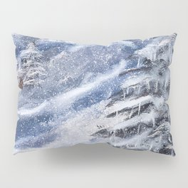 Cabin In The Mountains Pillow Sham