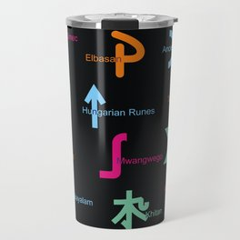 C in Scripts Around the World /I Travel Mug
