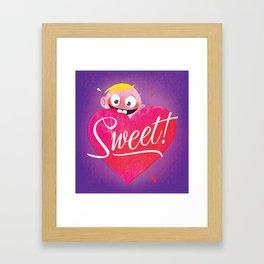 Sweet Valentine's Framed Art Print