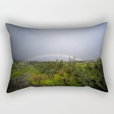 under the rainbow Rectangular Pillow