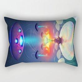 Deep Meditation Rectangular Pillow