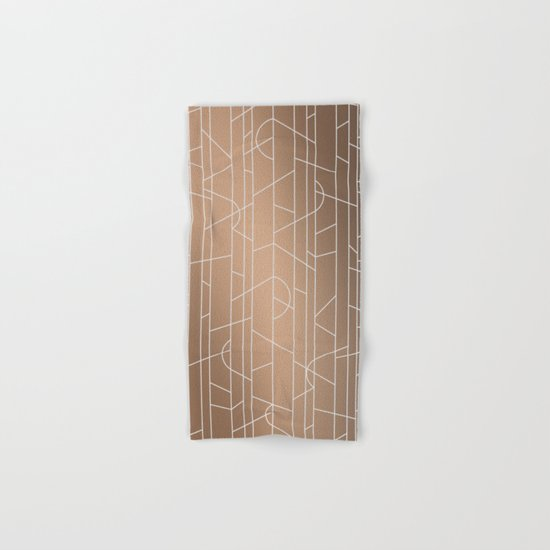 Patternbronze #3 Hand & Bath Towel