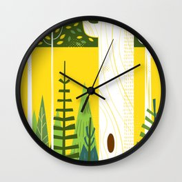 Joyful Trees Wall Clock