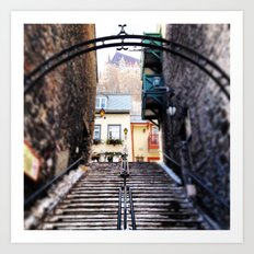 Old Quebec City Art Print