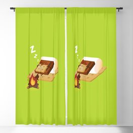 Sleeping S'more Blackout Curtain