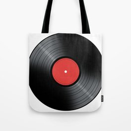 Music Record Tote Bag