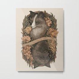 Friend Fox, Foe Fox Metal Print