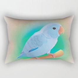 Club of lovers of Parrotlets. Umka Rectangular Pillow