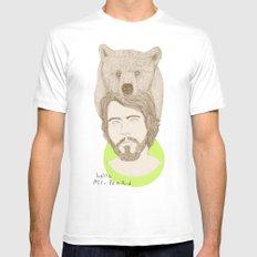 mr.bear-d Mens Fitted Tee White MEDIUM