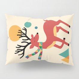 Deer Autumn Pillow Sham