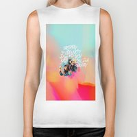 telephone Biker Tanks featuring telephone by evenstarss