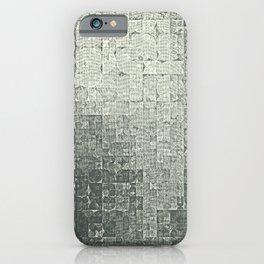 monochrome circles iPhone Case