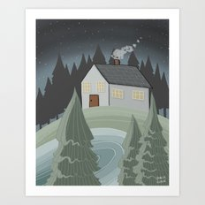 Place to Be Art Print