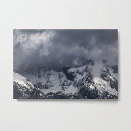 Moody Mountains Metal Print
