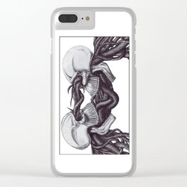 Symbiosis of the Mind Clear iPhone Case