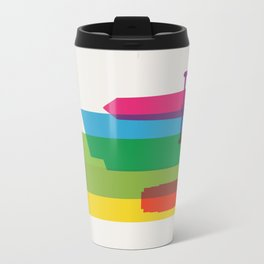 Shapes of Minneapolis Travel Mug