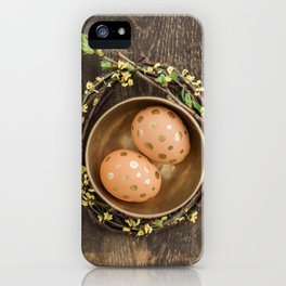 Golden eggs iPhone Case