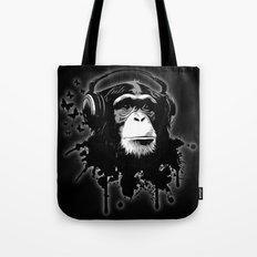 Monkey Business - Black Tote Bag