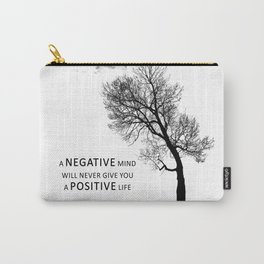 Negative Mind Carry-All Pouch