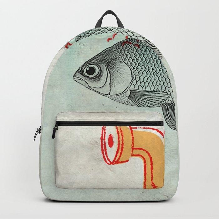 Periscope Goldfish Backpack