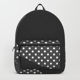 Grey abstract abstract Backpack