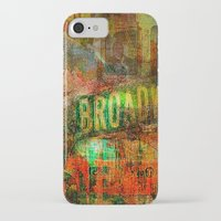 broadway iPhone & iPod Cases featuring Slice of Broadway by Joe Ganech