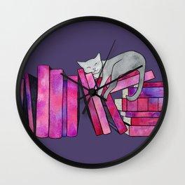 Literary Naps Wall Clock